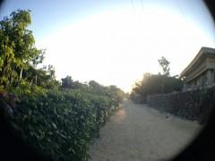 竹富島の朝